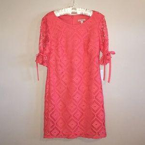 NWT DressBarn Coral Shift Dress